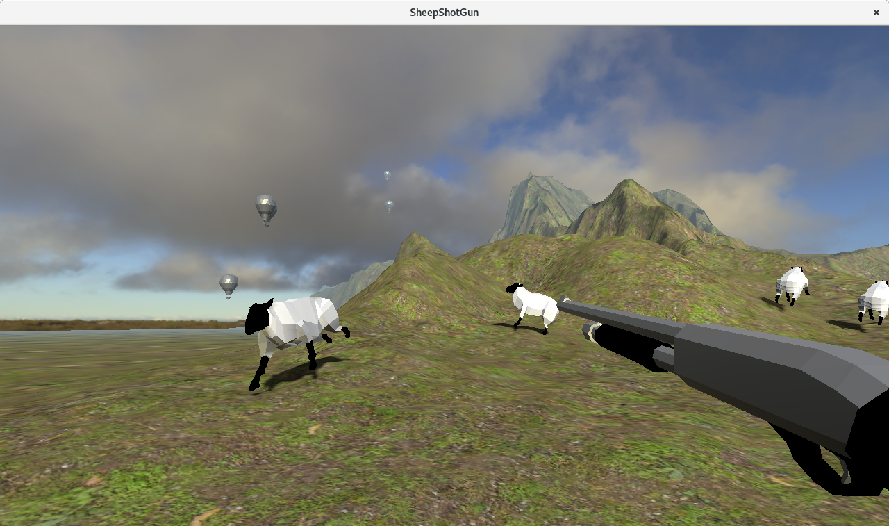 SheepShot Gun, game by TMM